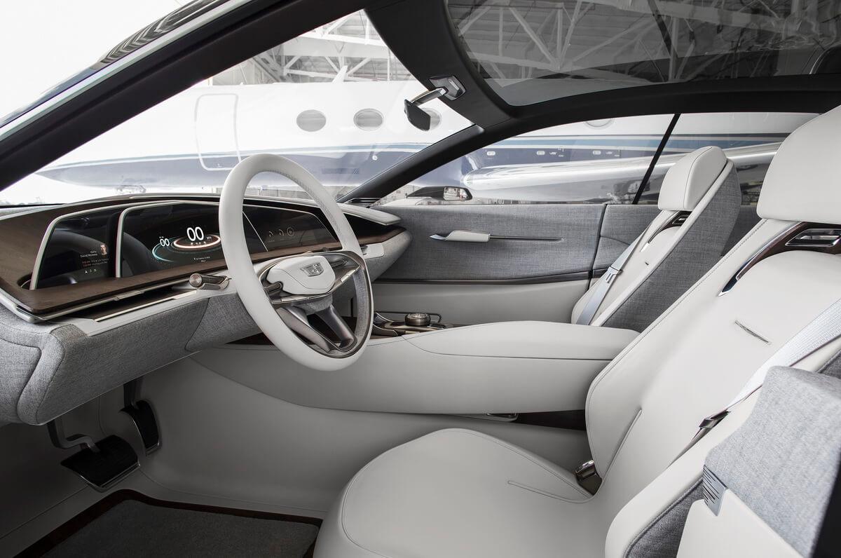 Cadillac Escala Concept intérieur tableau de bord