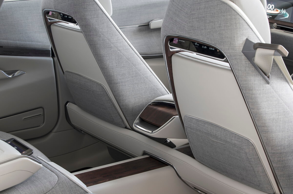 Cadillac Escala Concept intérieur
