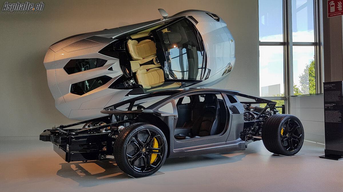 Lamborghini Aventador SV chassis carbone