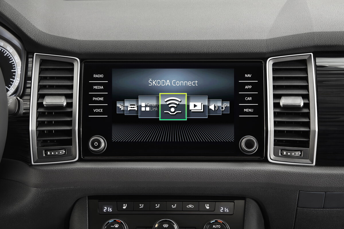 Skoda Kodiaq Connect Multimédia