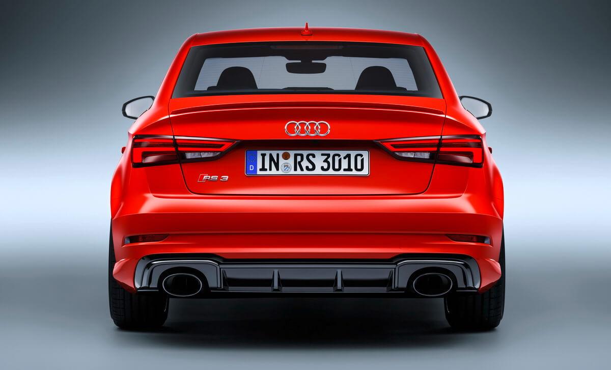 Paris 2016 Audi Rs3 Berline Asphalte Ch
