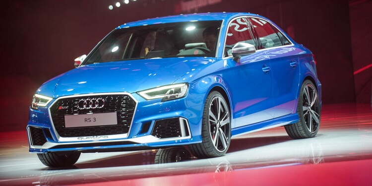 Paris 2016: Audi RS3 berline