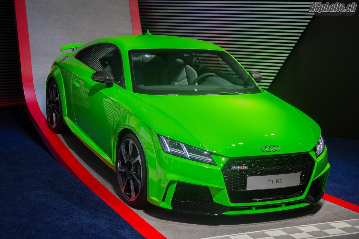 Audi TT RS Vert Lime