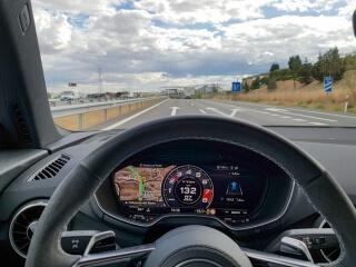 Essai Audi TT RS intérieur