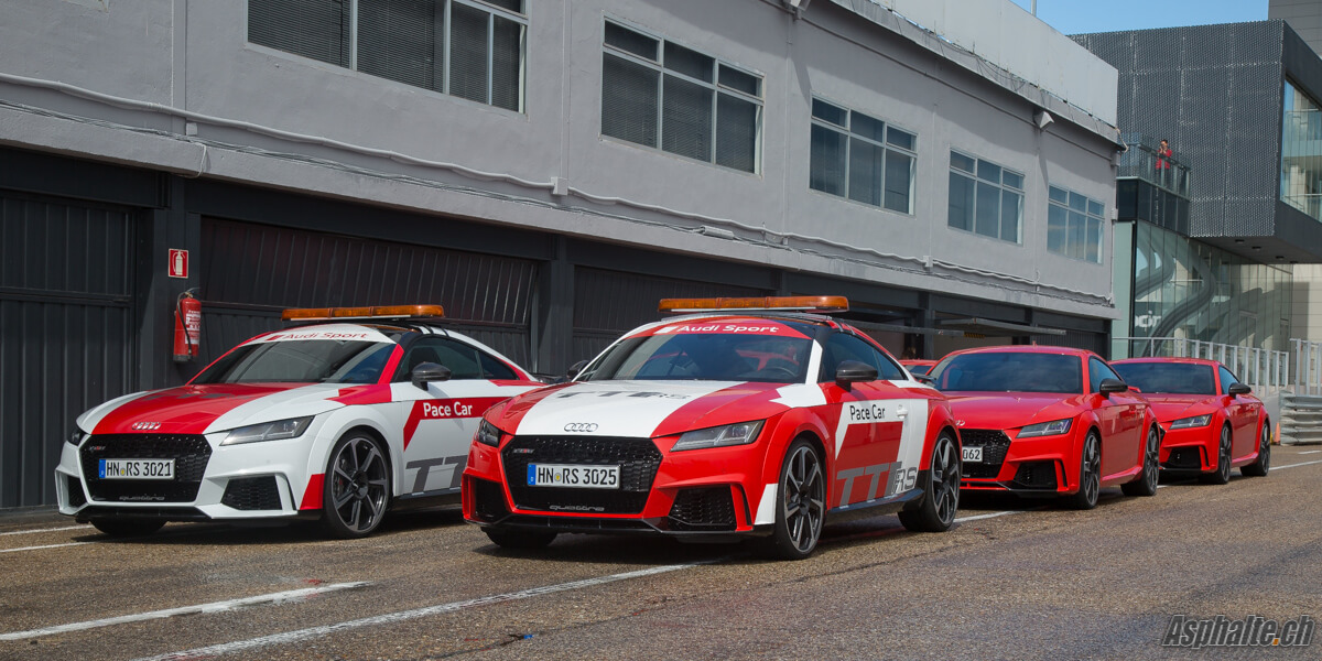 Essai Audi TT RS Pacecar