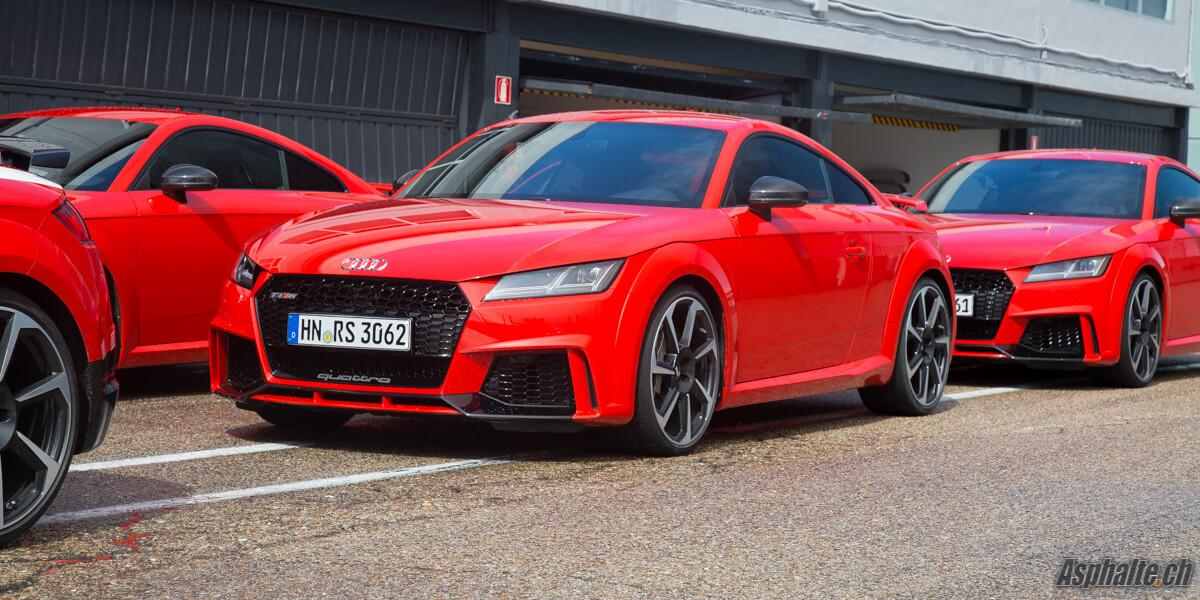 Essai Audi TT RS pack noir