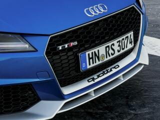 Essai Audi TT RS pack aluminium