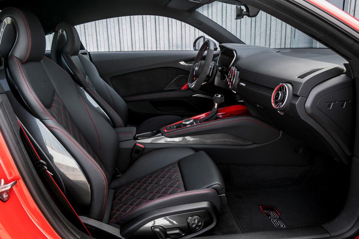 Audi TT RS intérieur sièges