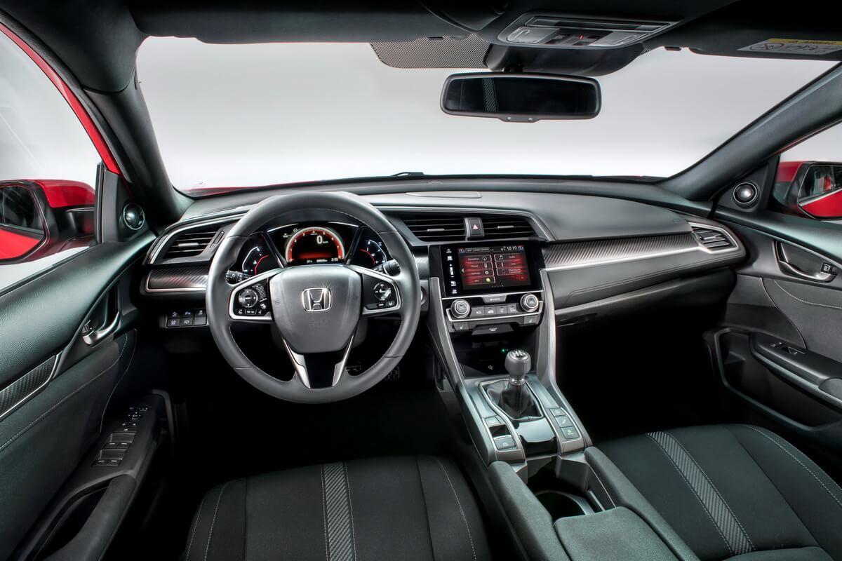Honda Civic Hatchback 2017 intérieur
