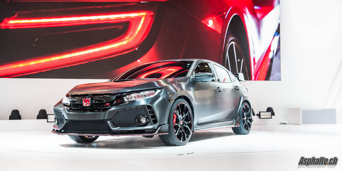 Honda Civic Type R Concept 2017