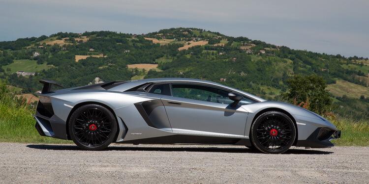 Essai Lamborghini Aventador SV
