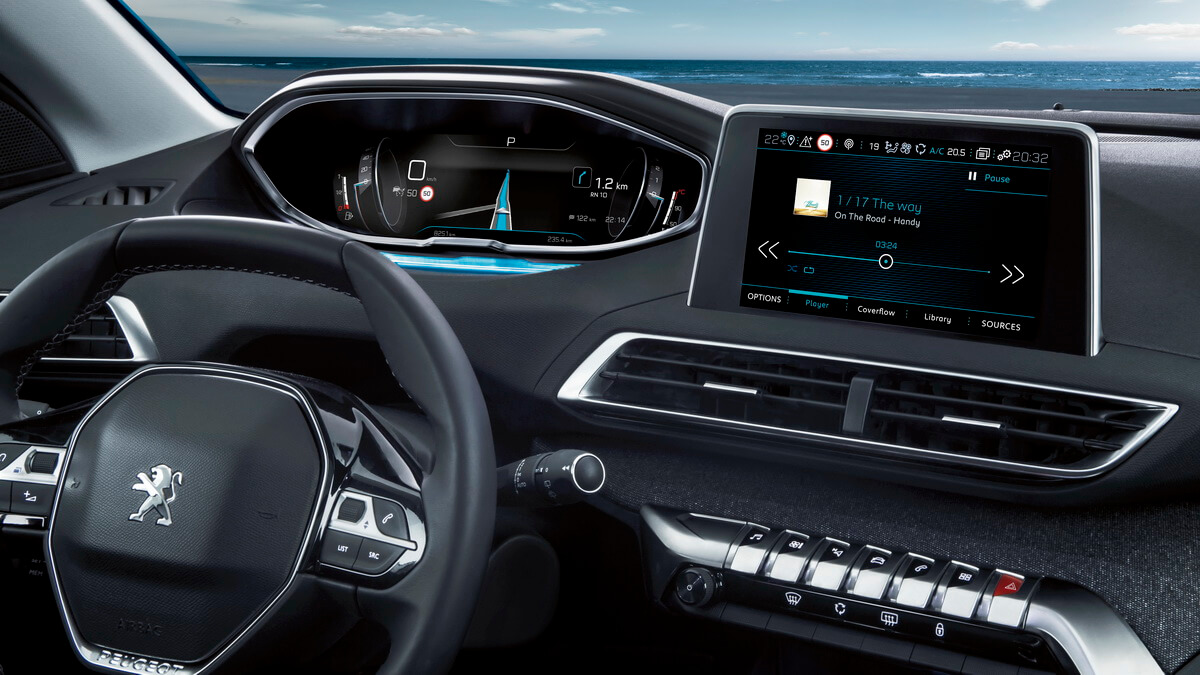 Peugeot 5008 for Interieur 5008 2017
