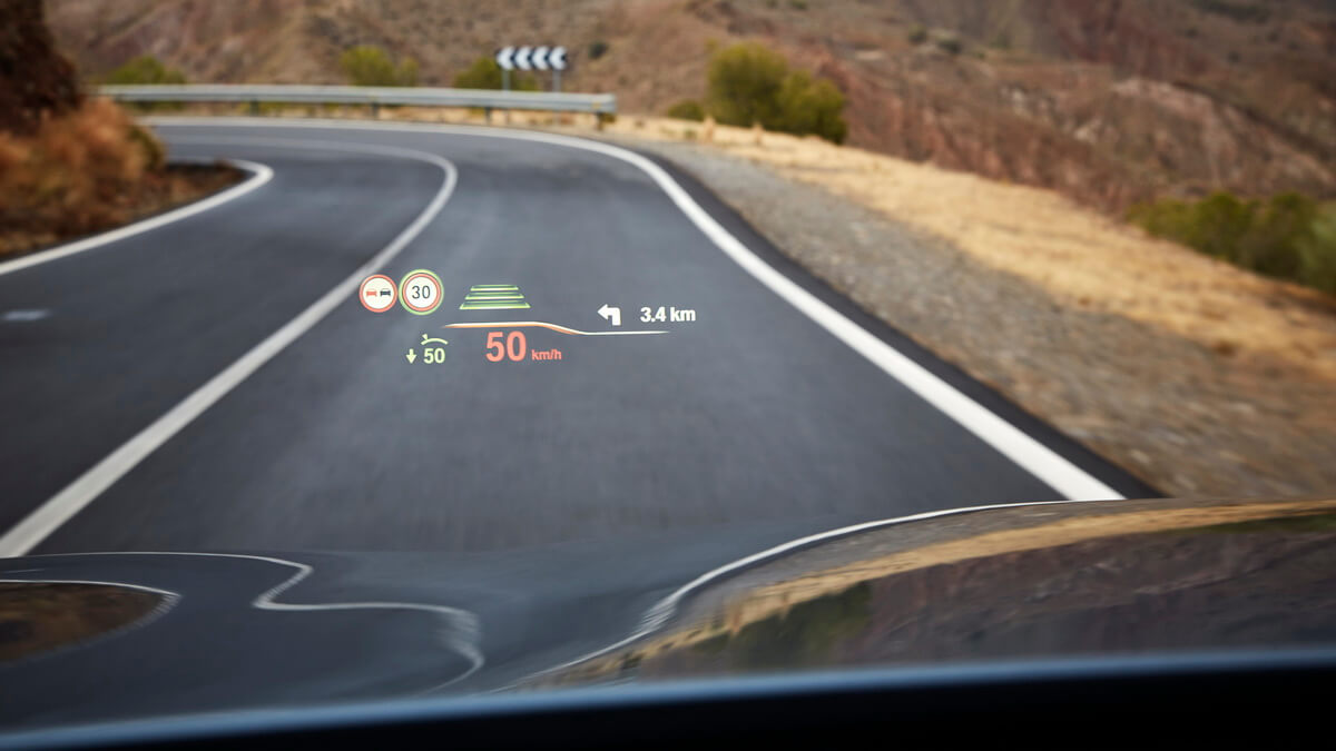 BMW Série 5 G30 Affichage Tête Haute Head Up Display