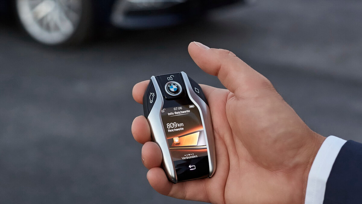BMW Série 5 G30 Display Key