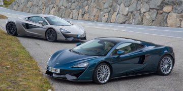Essai comparatif Mclaren Sport Series 570GT & 570S