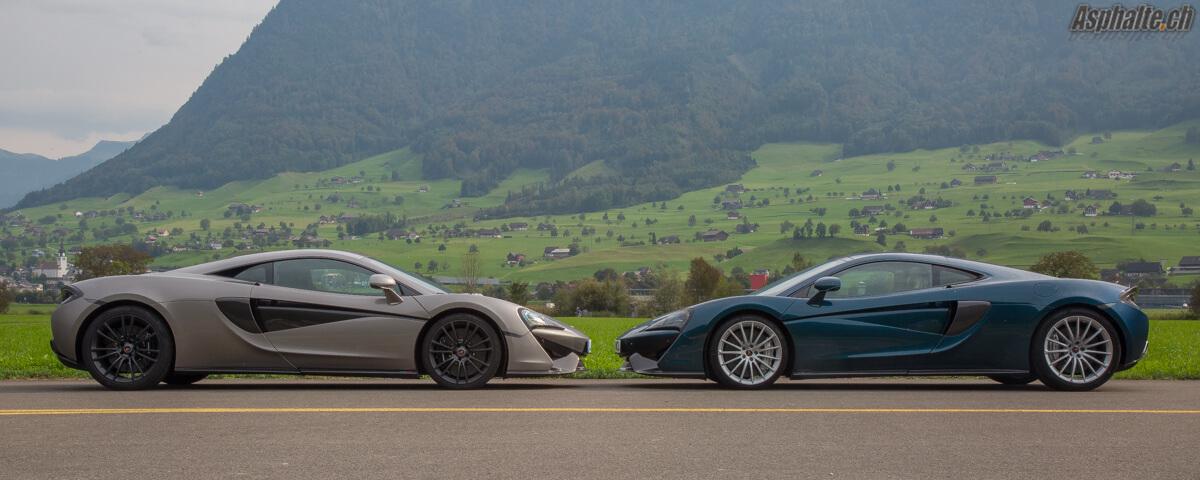 Essai comparatif McLaren Sports Series 570S & 570GT
