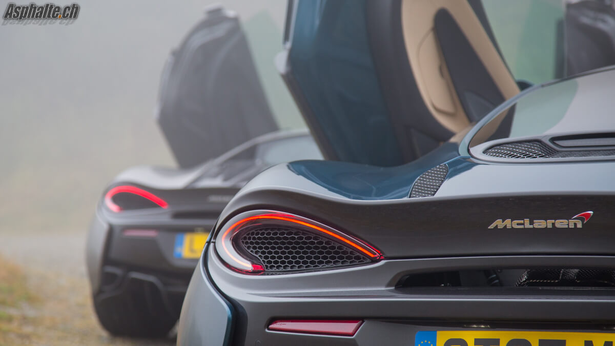 Test comparatif McLaren 570S 570GT