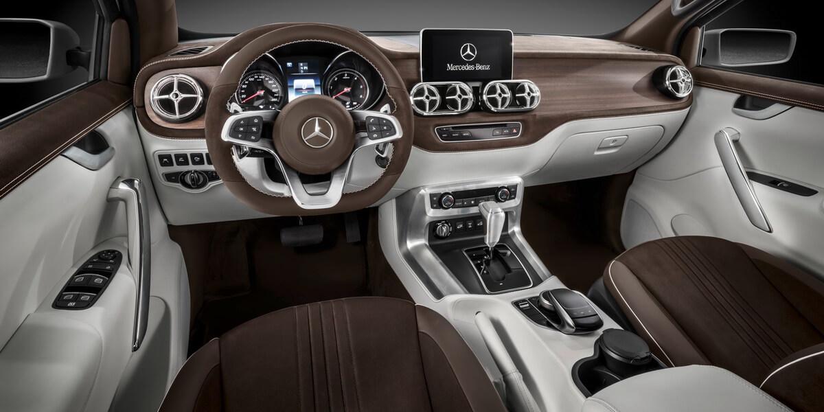 Mercedes-Benz Concept X-CLASS Stylish Explorer intérieur