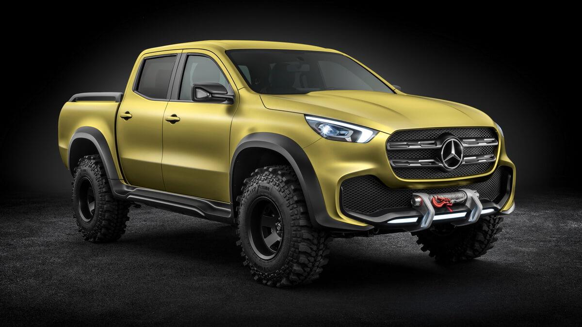 Mercedes-Benz Concept X-CLASS Powerful Adventurer