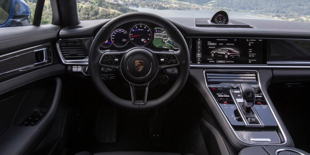 Essai Porsche Panamera Turbo 2016 intérieur