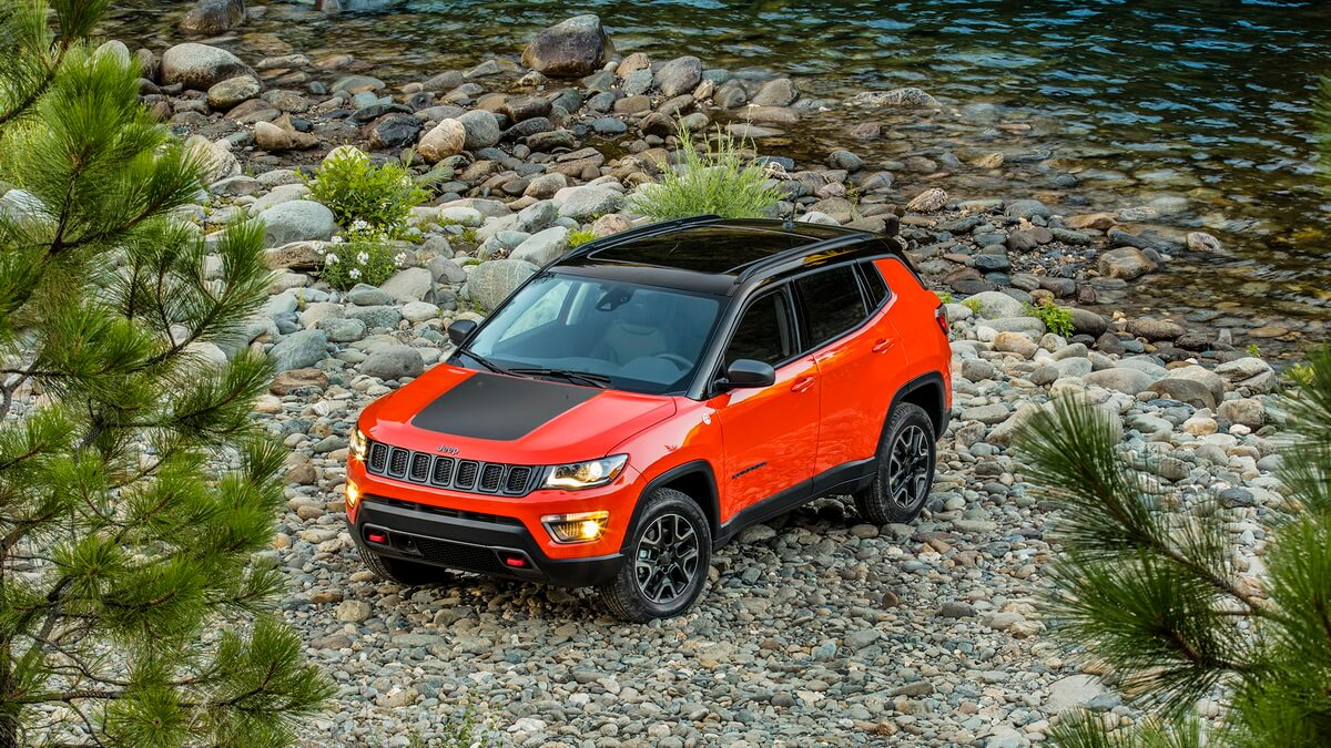 Jeep Compass Trailhawk 2017