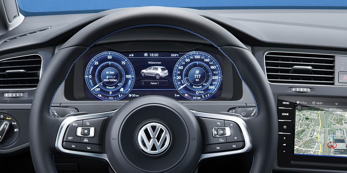 Vw golf vii facelift for Interieur golf 7