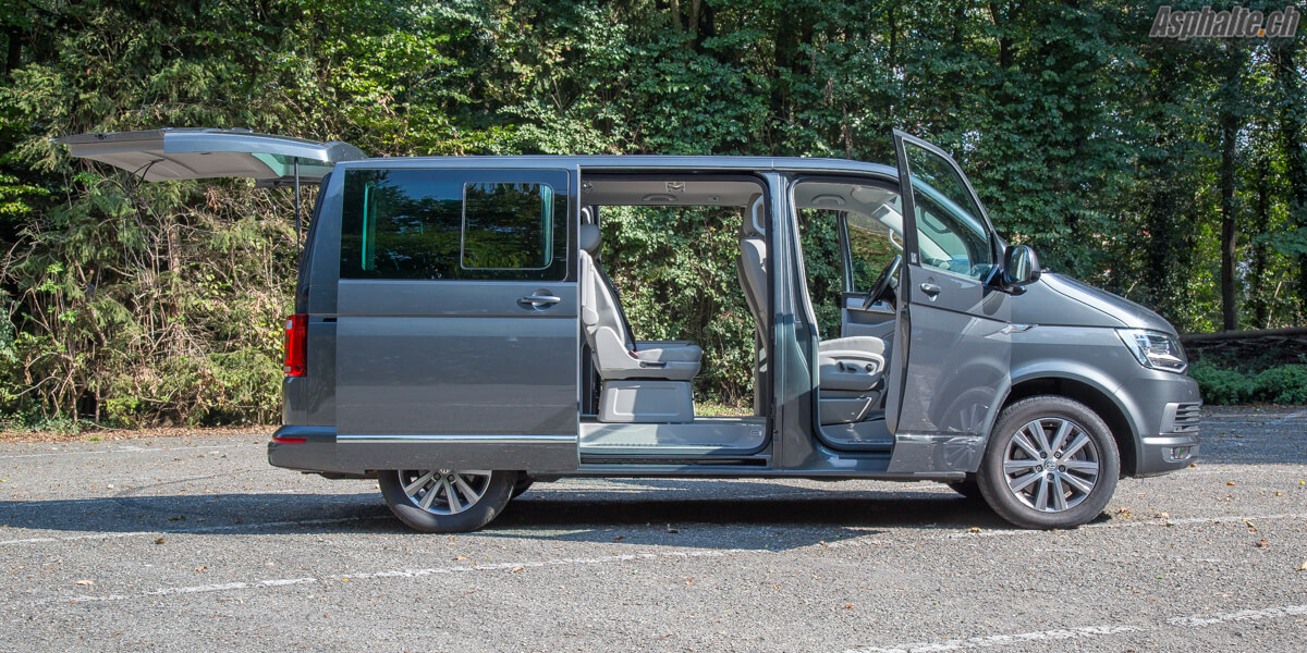 Essai Volkswagen Multivan T6 Highline