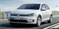 Volkswagen e-Golf Facelift 2017