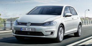 Volkswagen e-Golf Facelift 2017