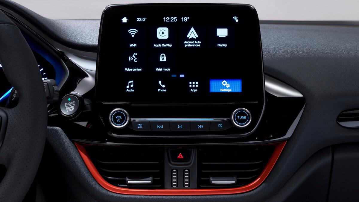 Ford Fiesta mk7 2017 Sync3 multimédia