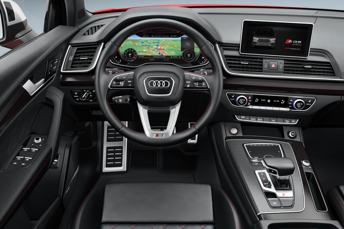 Audi SQ5 3.0 TFSI 2017 intérieur
