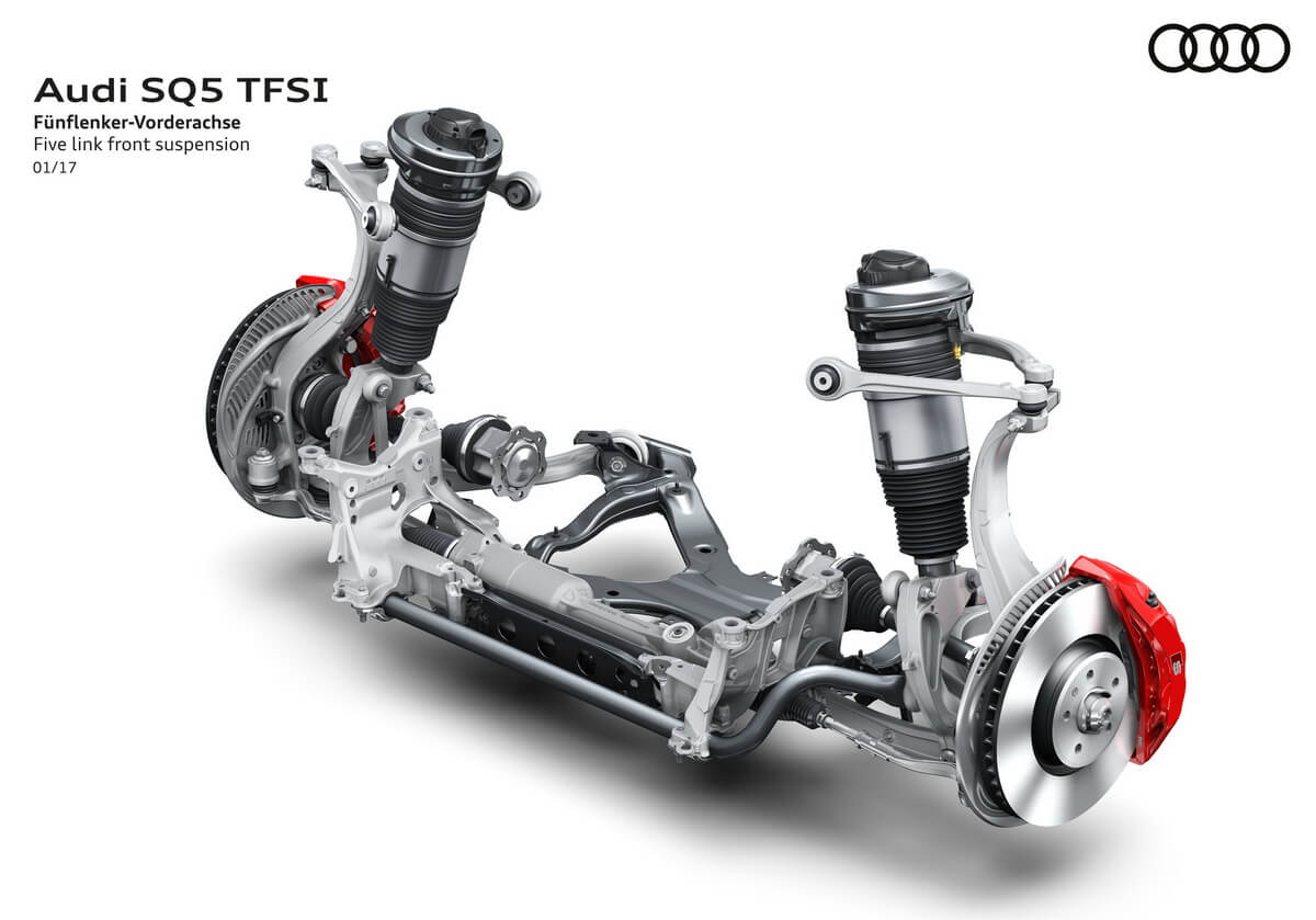 Audi SQ5 3.0 TFSI 2017 Suspension avant