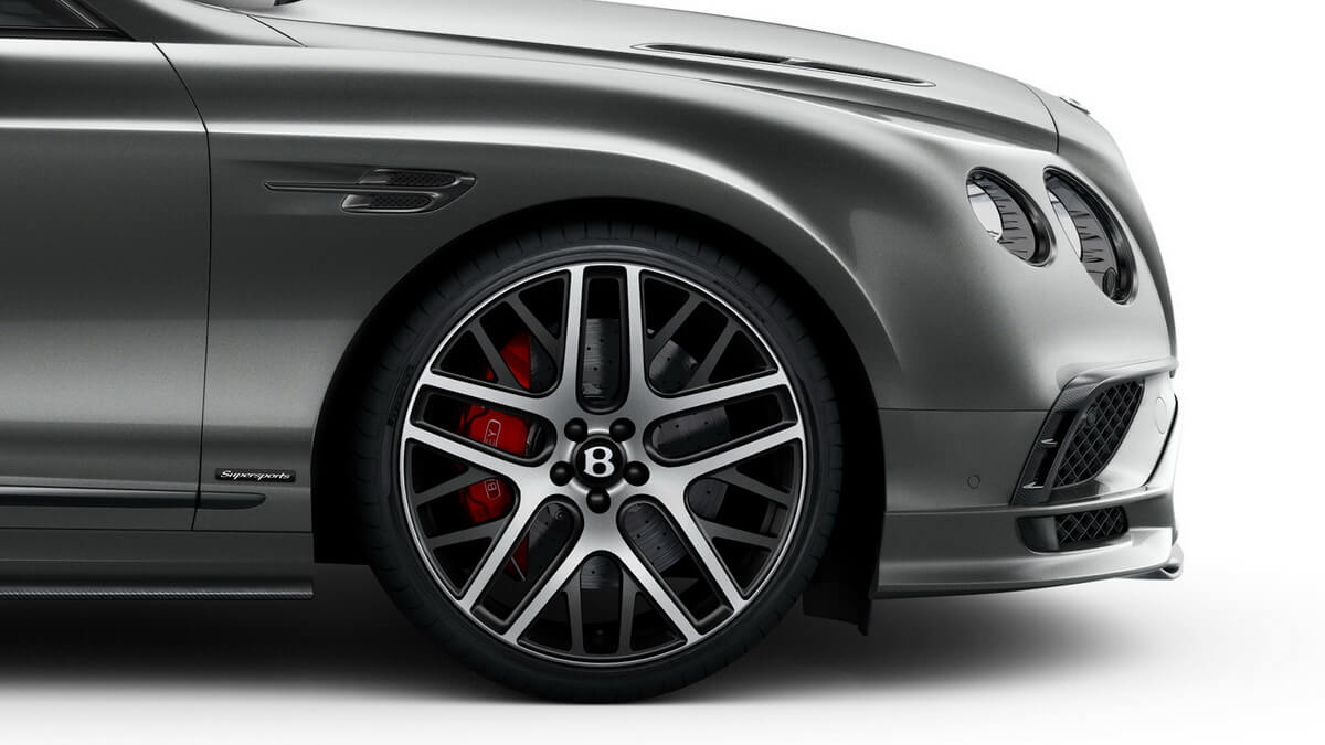 Bentley Continental Supersports Jante forgée