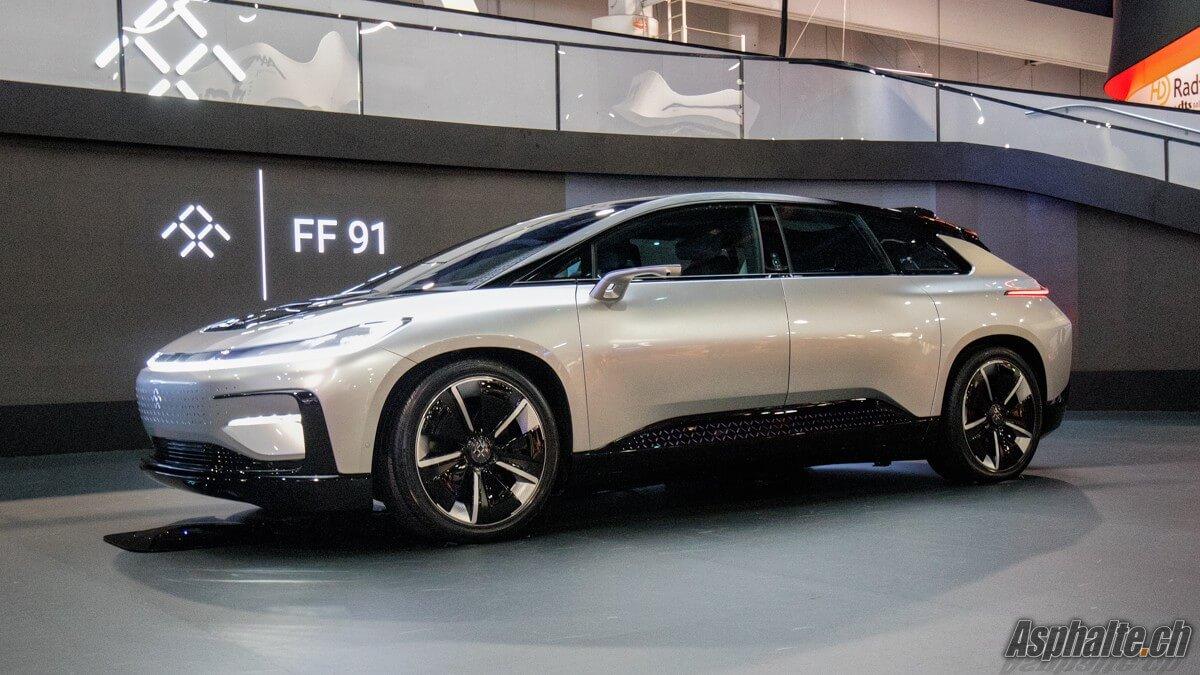 Faraday Future FF91 CES 2017 Las Vegas