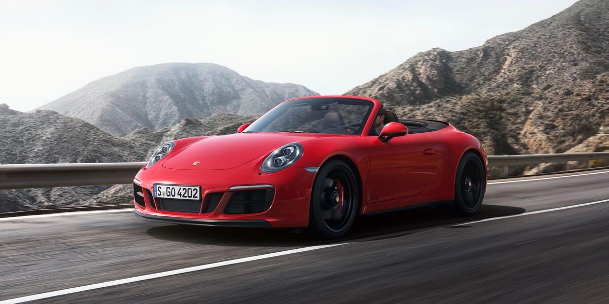 Porsche 911 991.2 Carrera 4 GTS Cabriolet