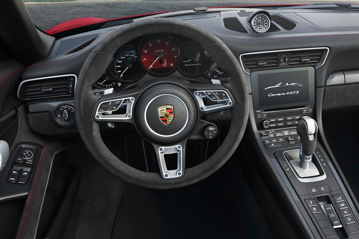 Porsche 991.2 Carrera GTS Cabriolet Intérieur