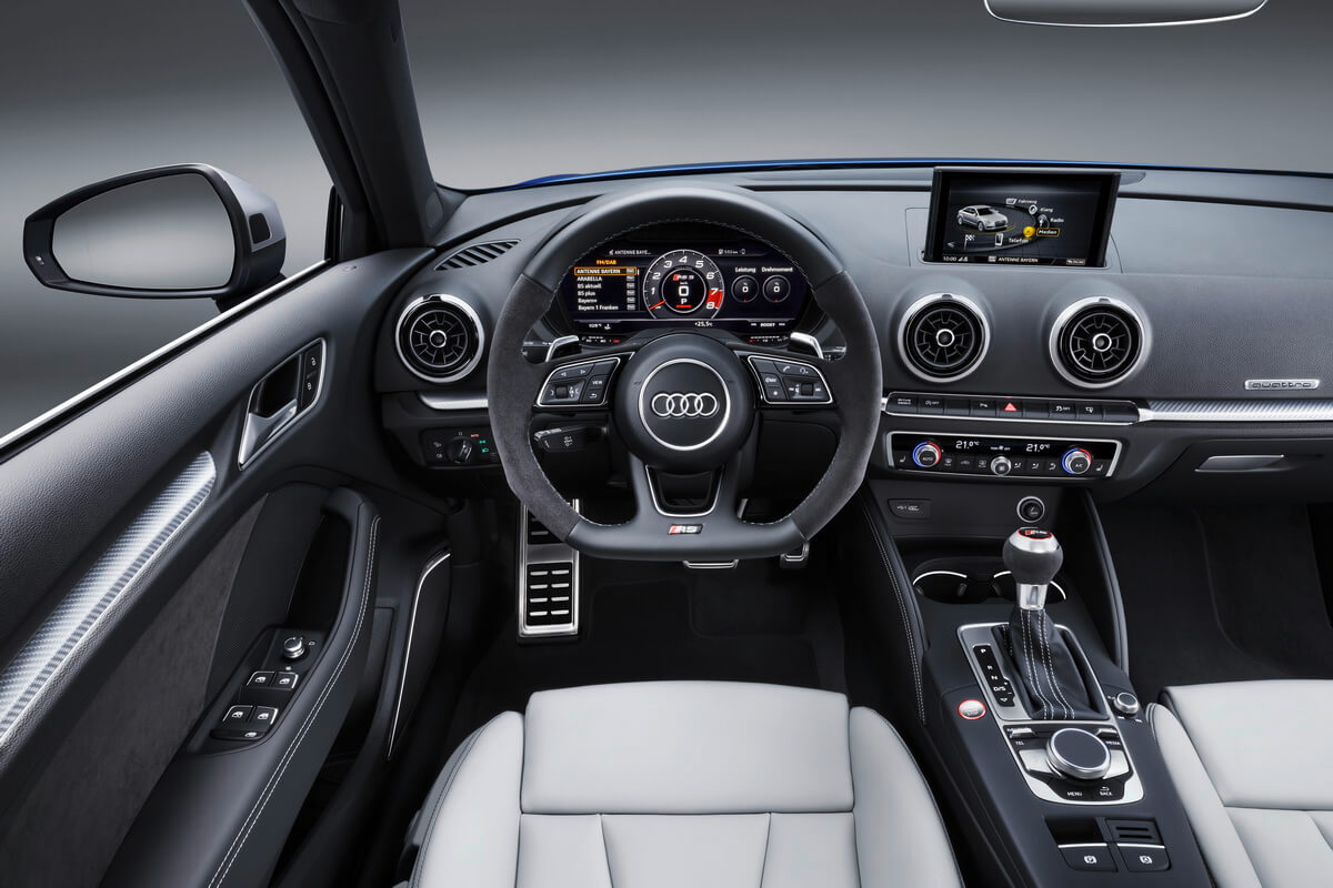 Gen ve 2017 audi rs3 sportback for Interieur q3 s line