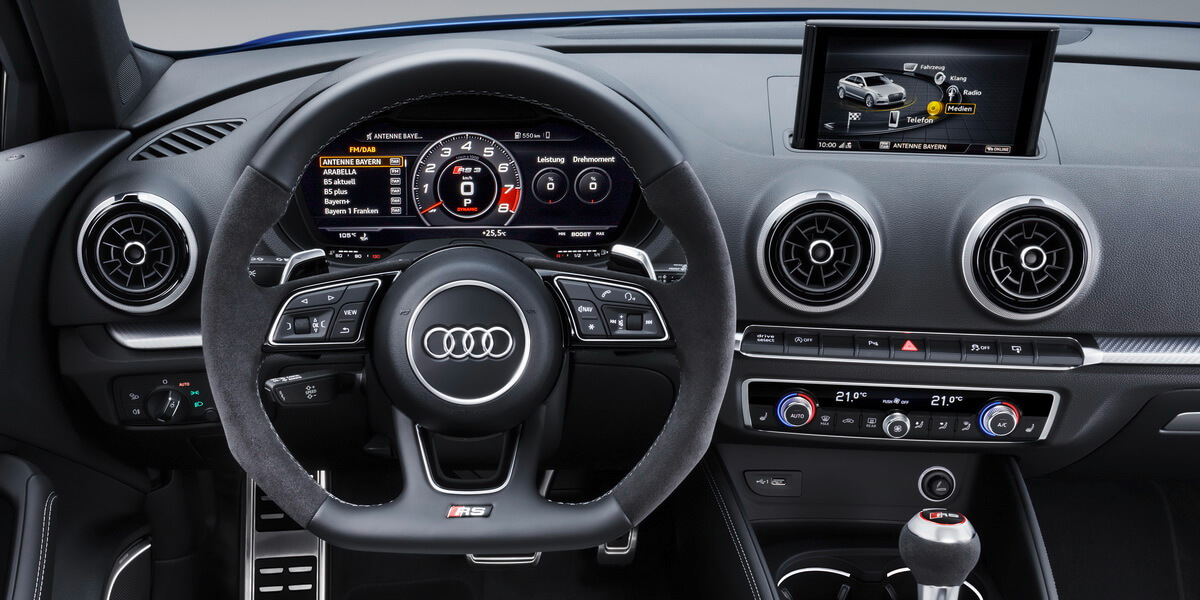 Audi RS3 8V Facelift Virtual Cockpit