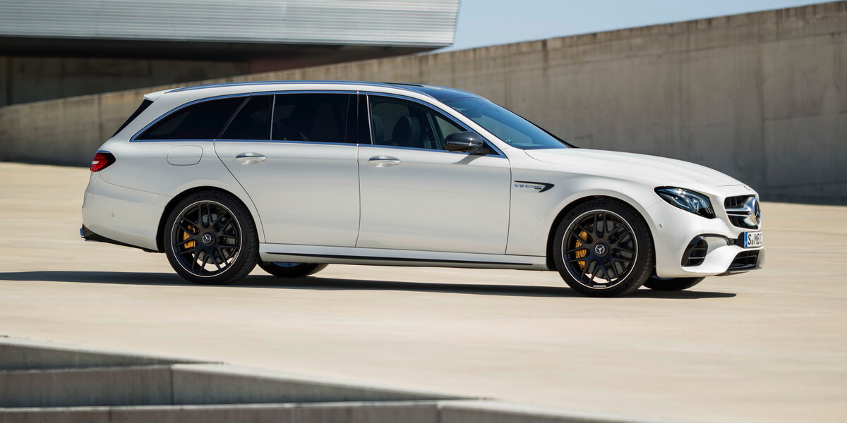Mercedes E63 AMG 4 Matic+