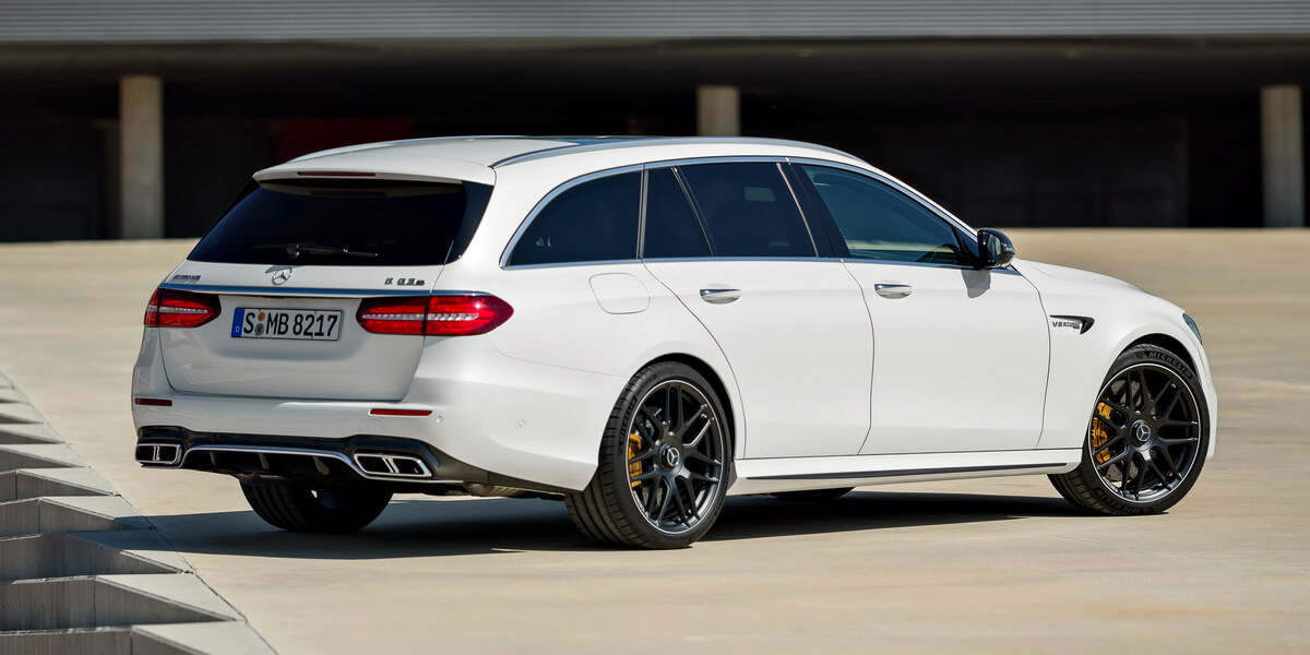Mercedes E63 AMG 4Matic+
