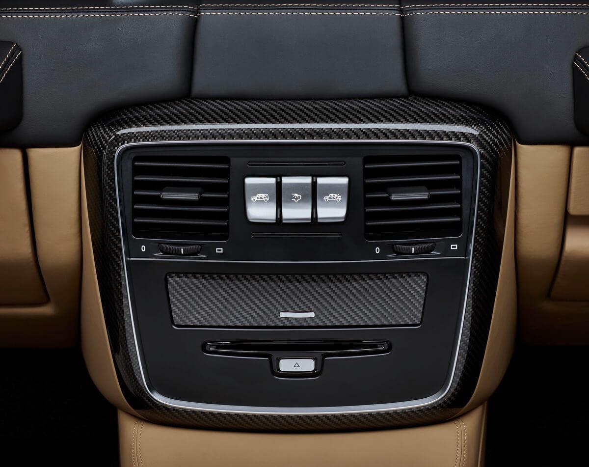 Mercedes-Maybach G 650 Landaulet console centrale
