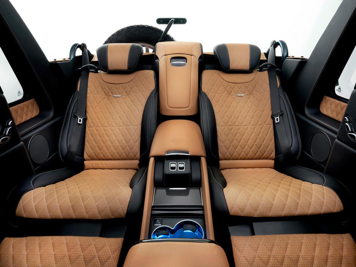 Mercedes Maybach G650 Landaulet sièges arrière