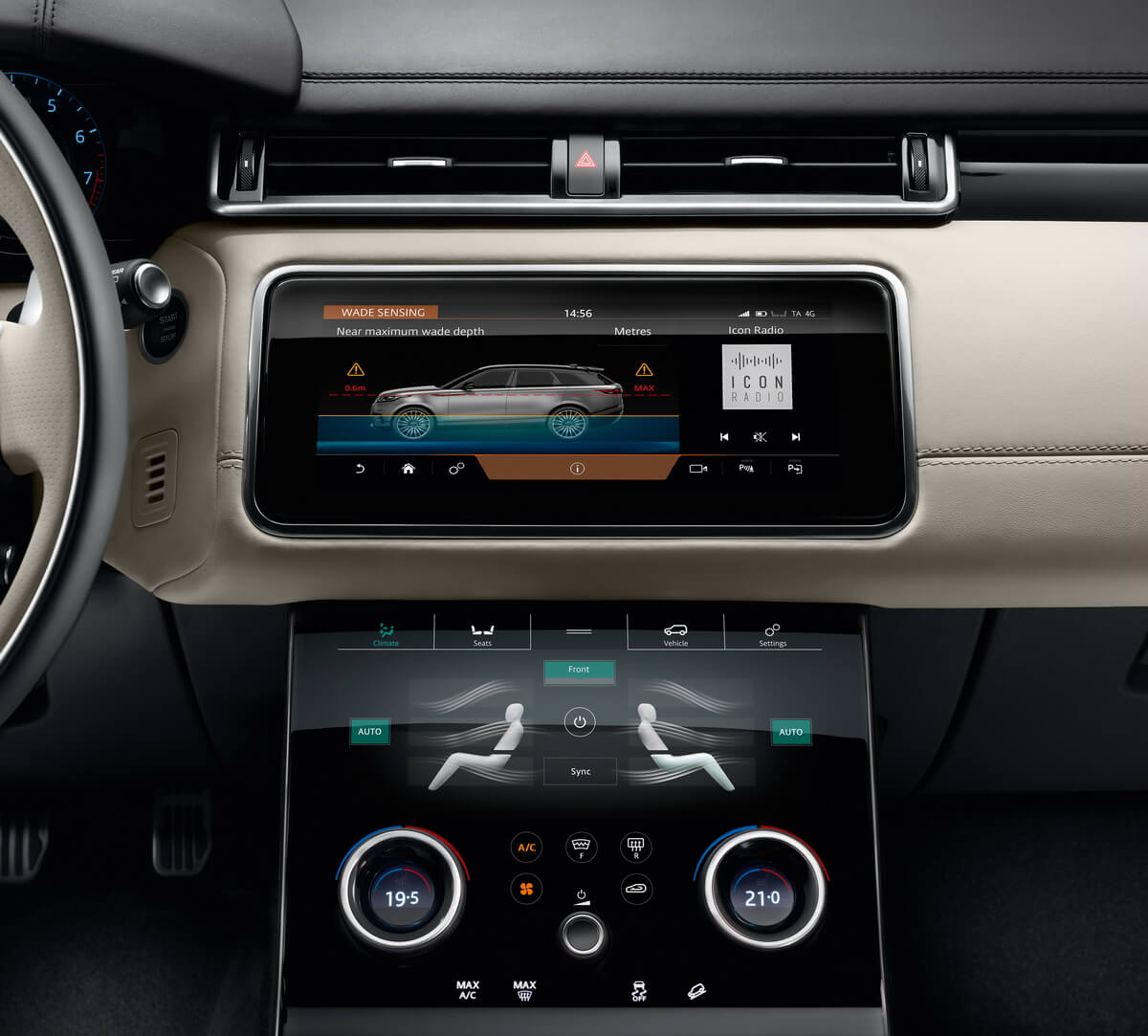 Range Rover Velar Touch Pro Duo