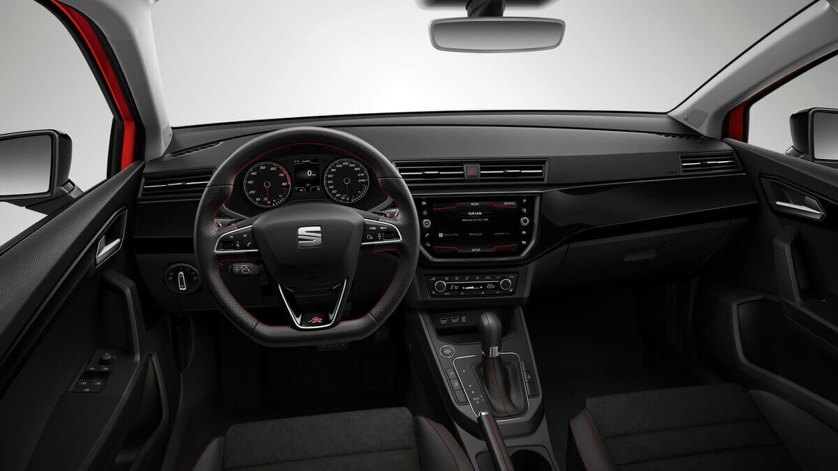 Seaet Ibiza Mk5 intérieur tableau de bord