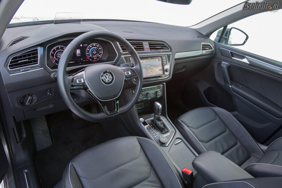 Essai vw tiguan 2 0 tsi 4motion for Interieur tiguan 2017