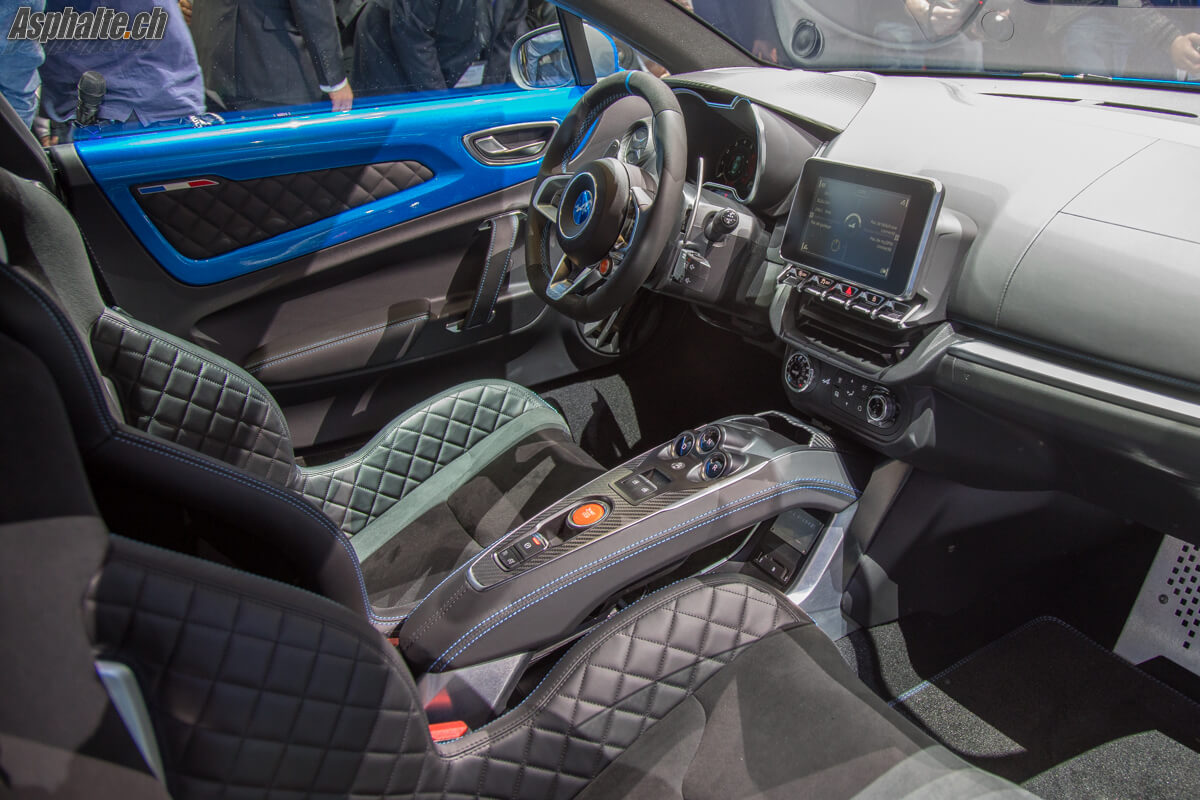Gen ve 2017 alpine a110 page 3 for Interieur alpine a110