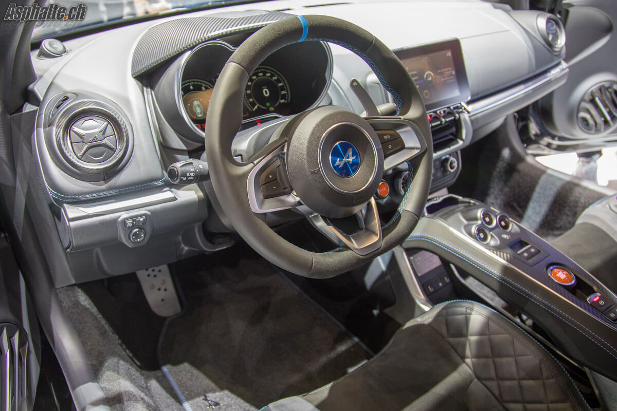 Gen ve 2017 alpine a110 for Interieur alpine a110