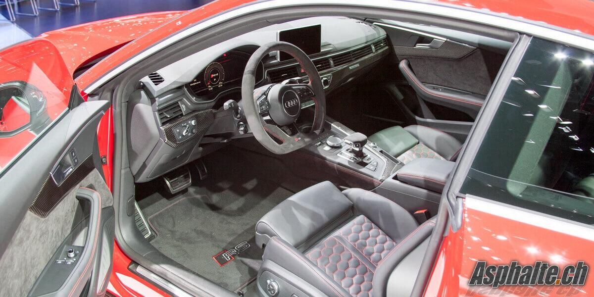 Audi RS5 Coupé intérieur
