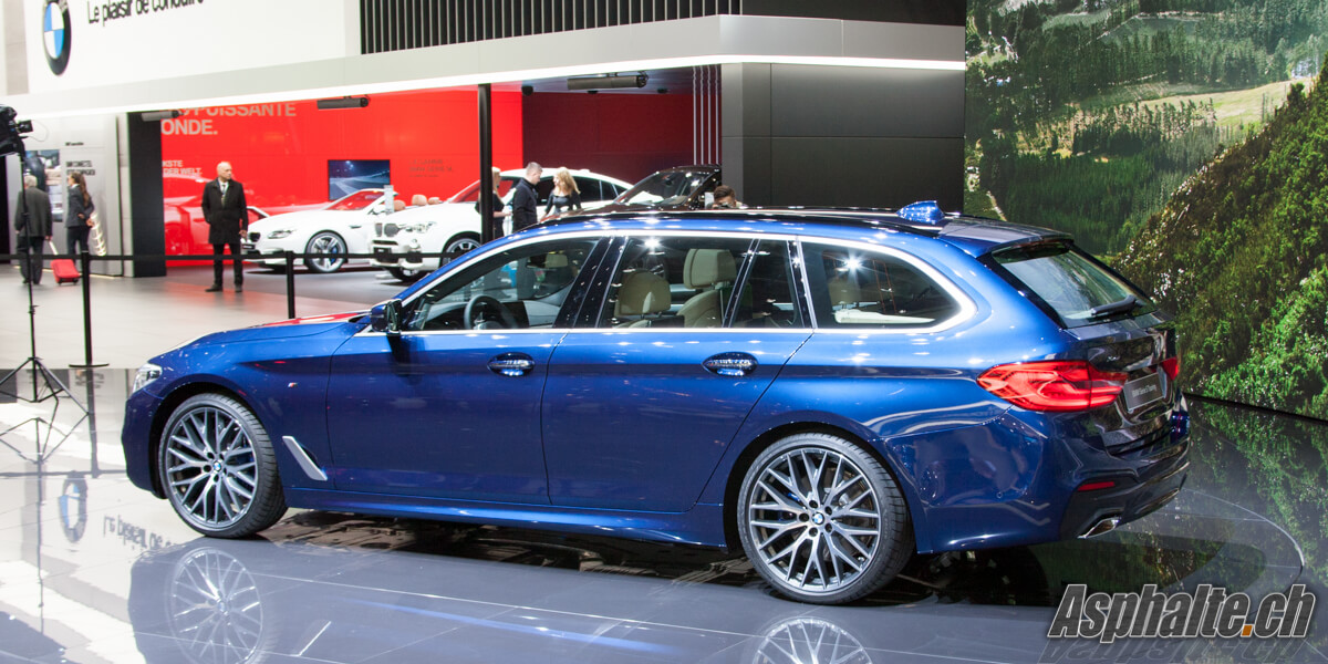 BMW Série 5 Touring G31 Salon Genève 2017