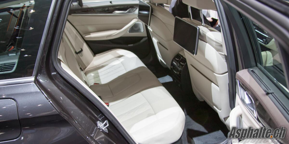 BMW Série 5 G31 Touring intérieur places arrière